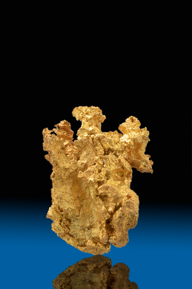 Chunky and Intricate Colorado Crystalline Gold Nugget