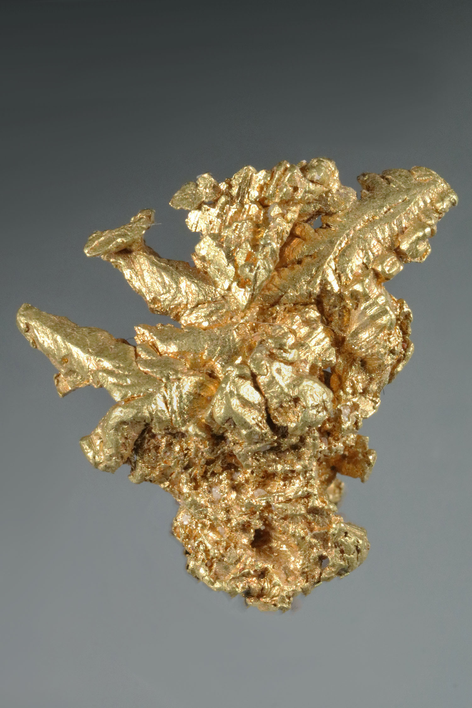 Papua New Guinea, Mt Kare Gold Crystal