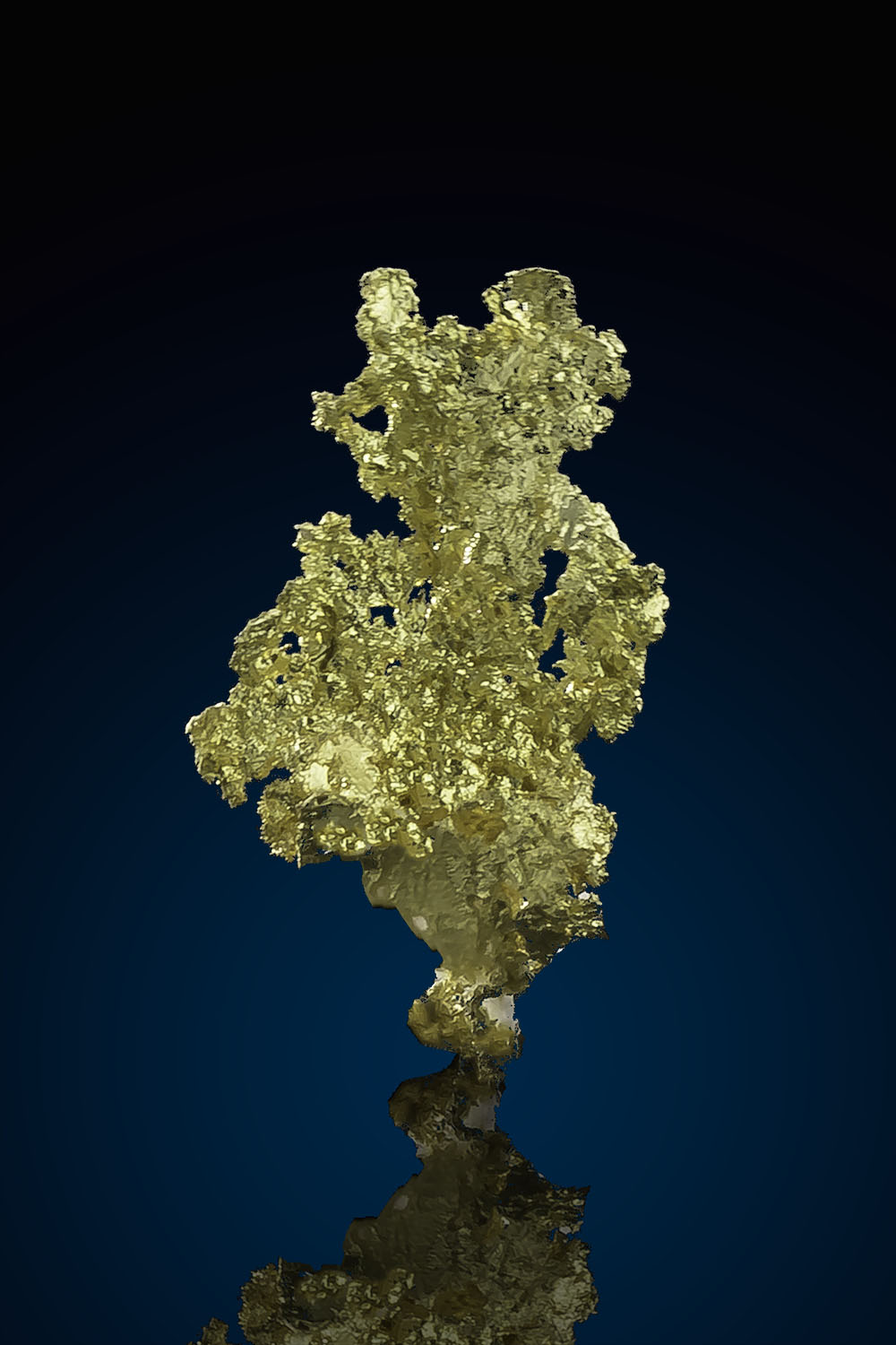Beautiful Natural Crystalline Gold - Allegheny, California