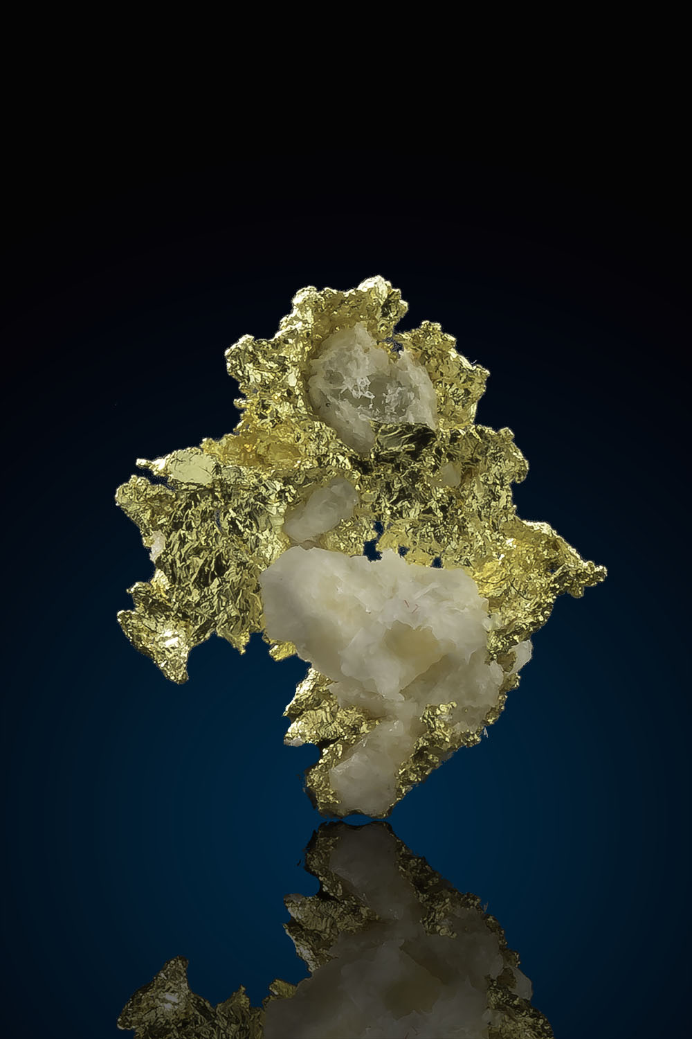 Intricate Crystalline Gold Specimen - Allegheny California