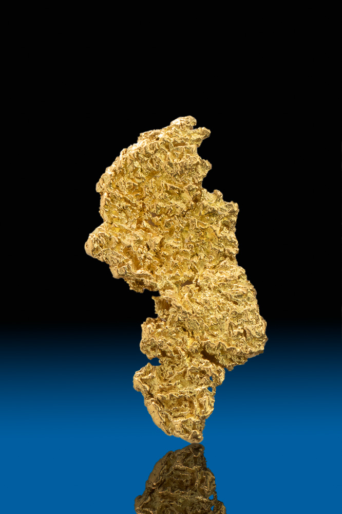 Beautiful Sand Stone Textured Gold Nugget Calaveras Ca