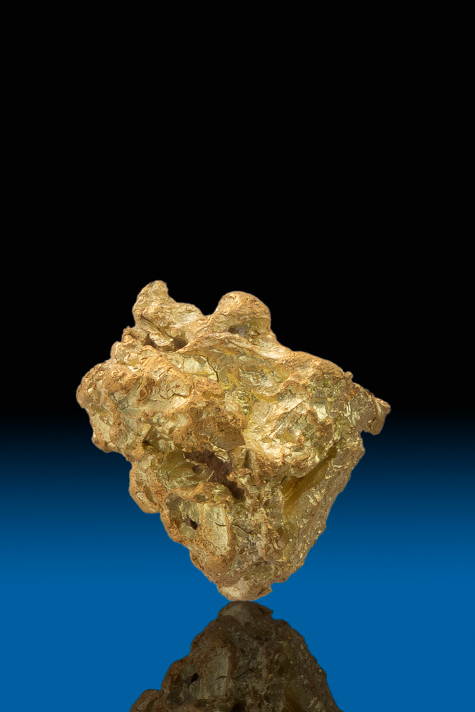 Chunky and Sharp - Natural California Gold Nugget