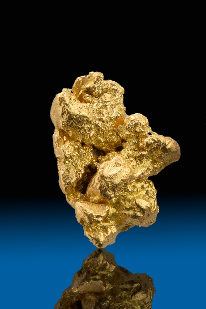 Chunky and Intricate Natural Gold Nugget - Calaveras, CA