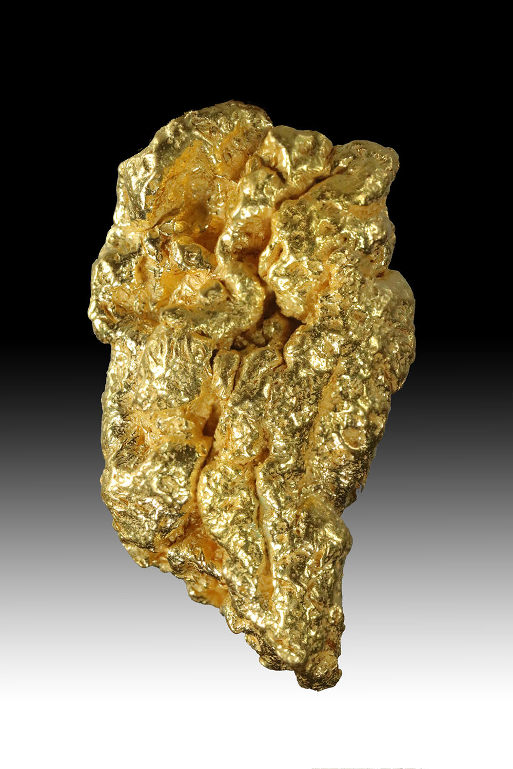 Long and Tappered - Beautiful California Gold nugget