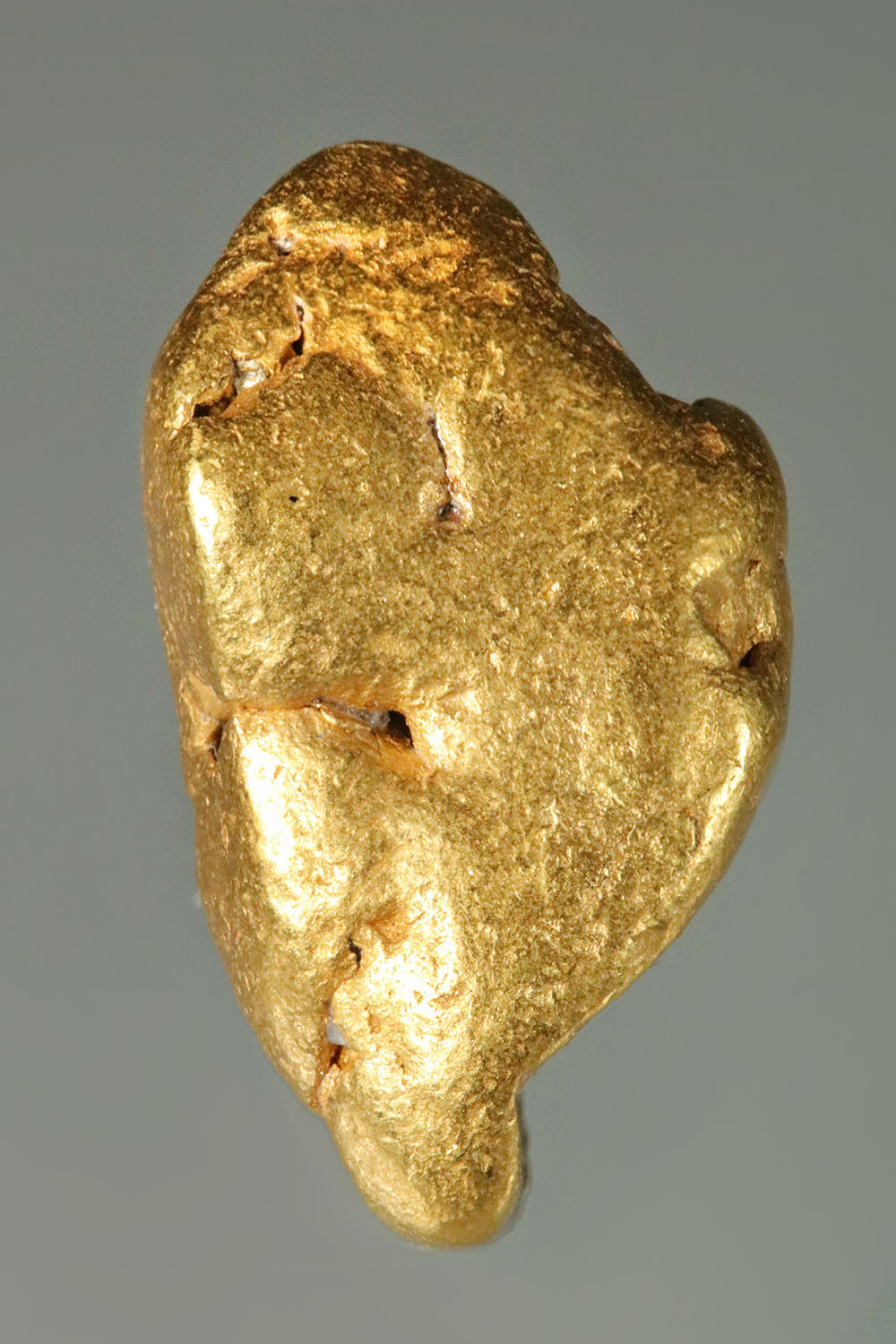 Native California Gold Nugget - Spectacular Shine