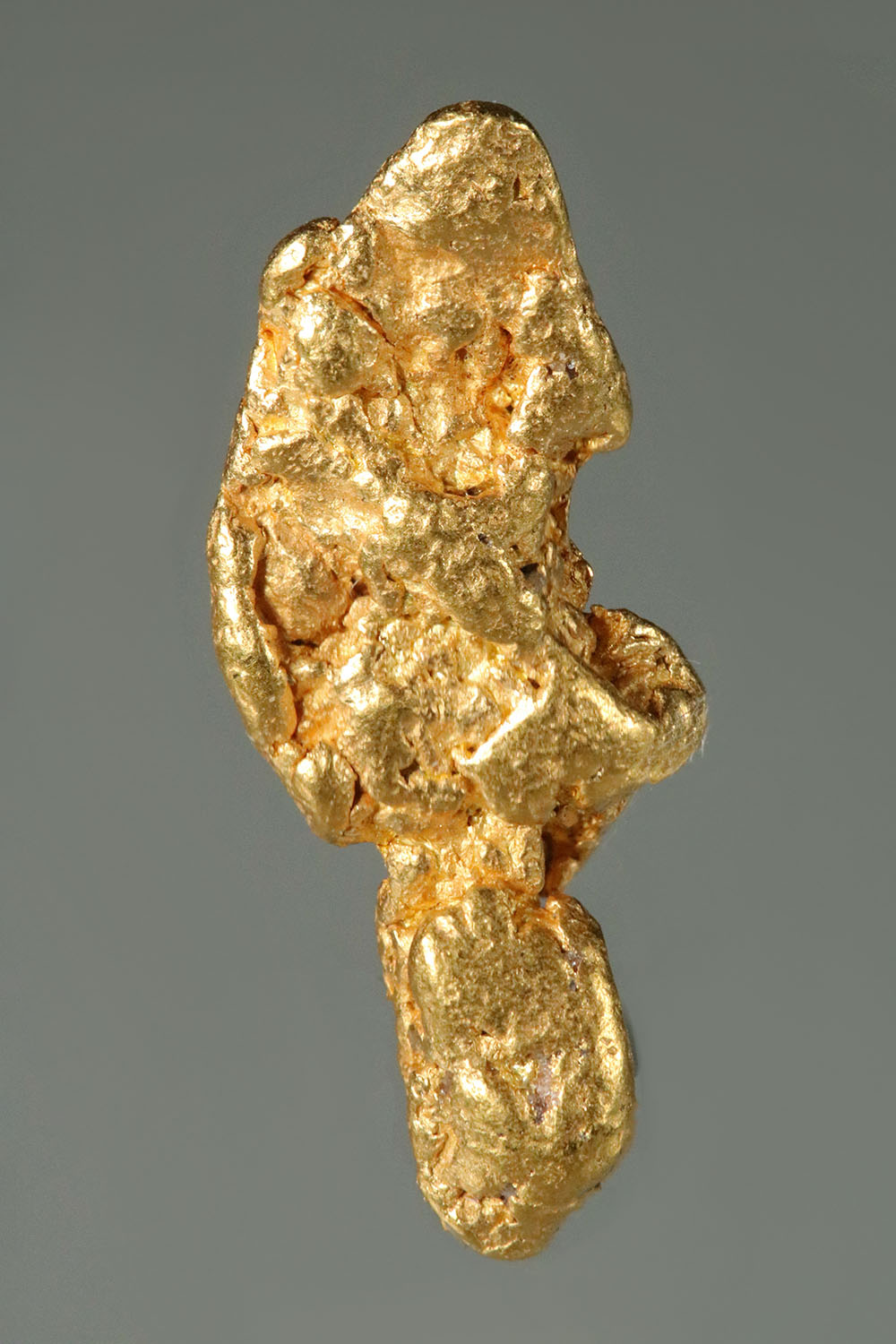 Long and Intricate California Gold Nugget