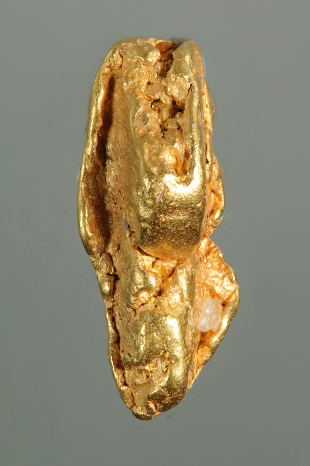 Elongated and Dimensional Gold Nugget From California
