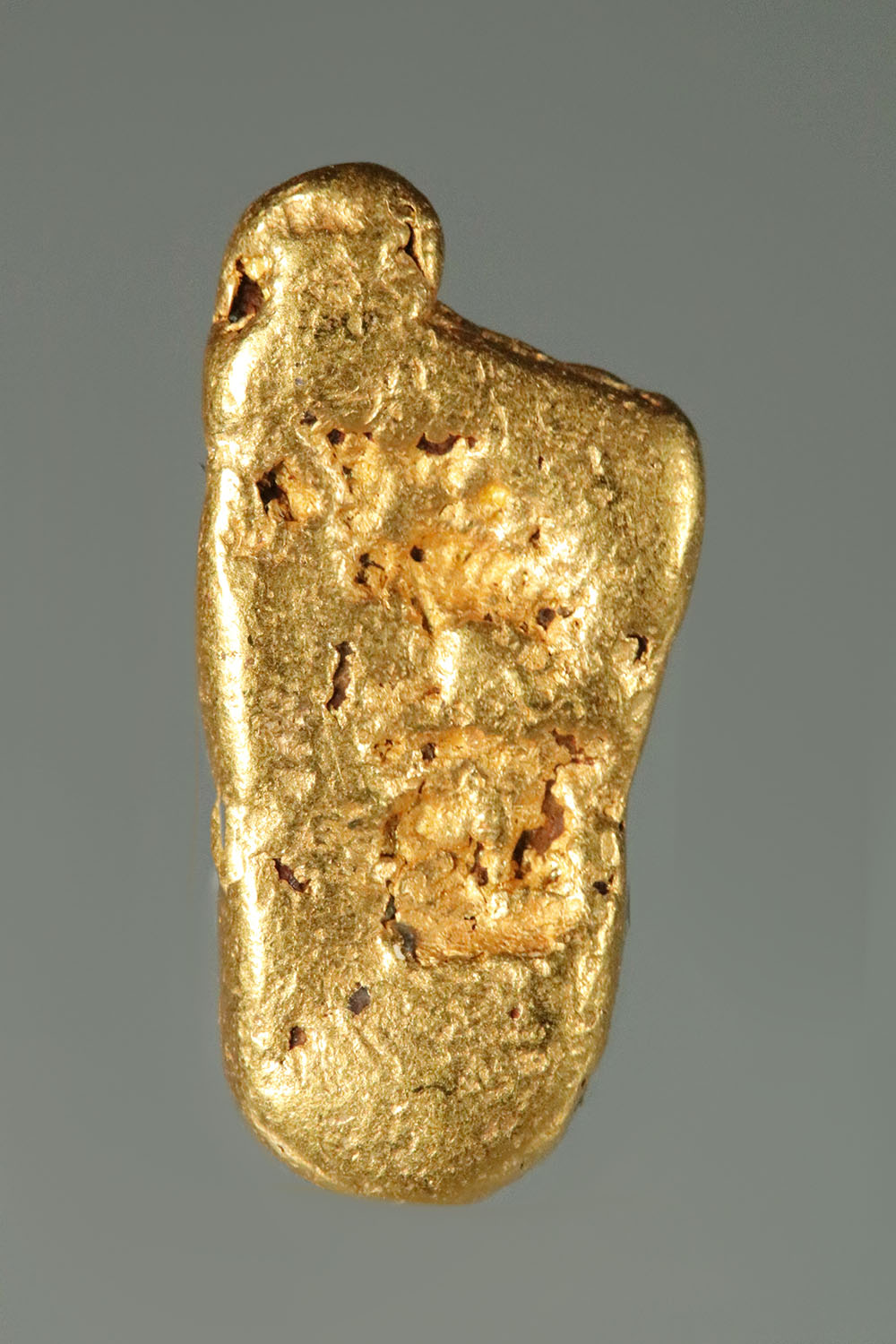 "Jewelry Grade ""Foot"" Shaped Raw California Gold Nugget"