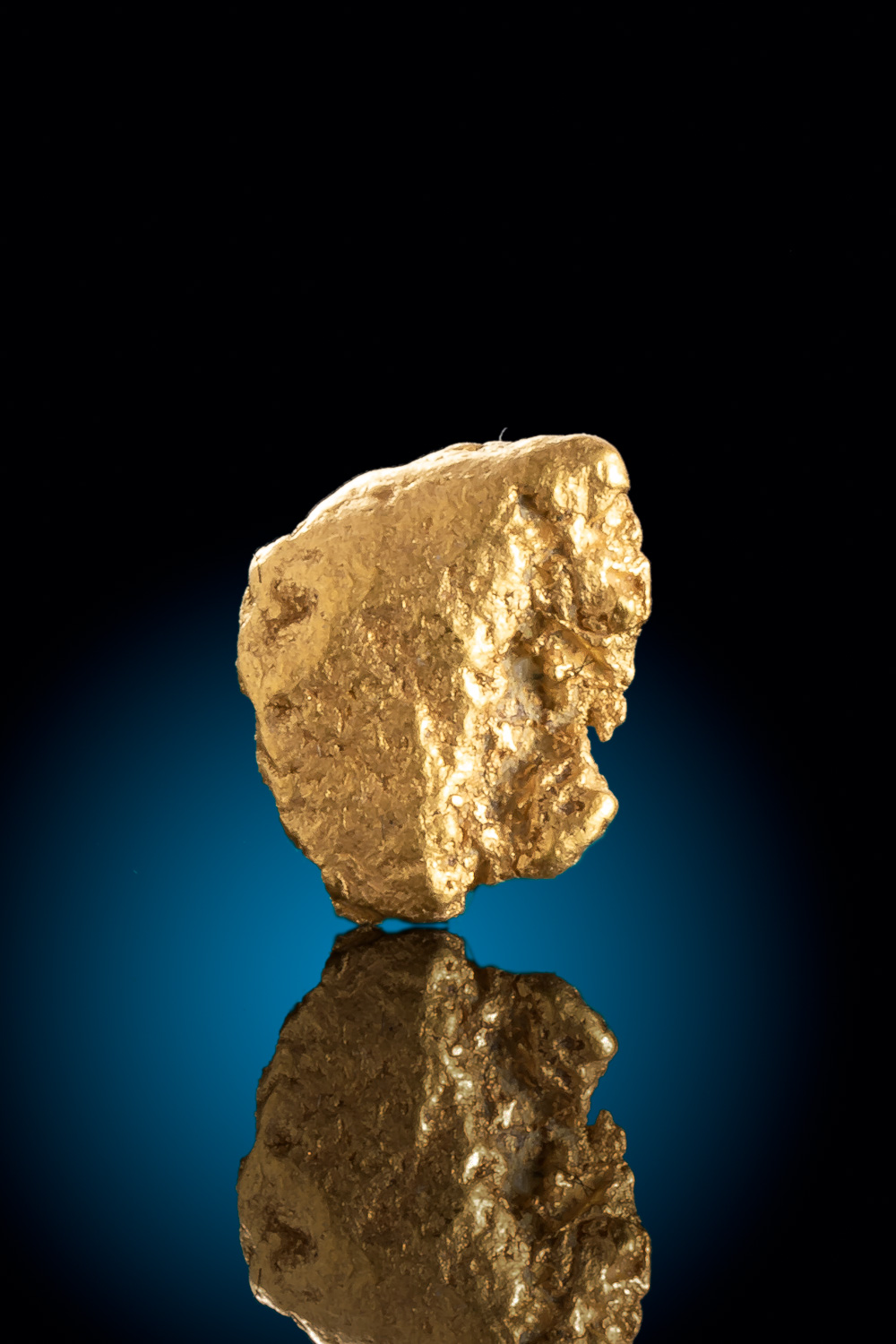 Super Clean and Shiny Colorado Gold Nugget