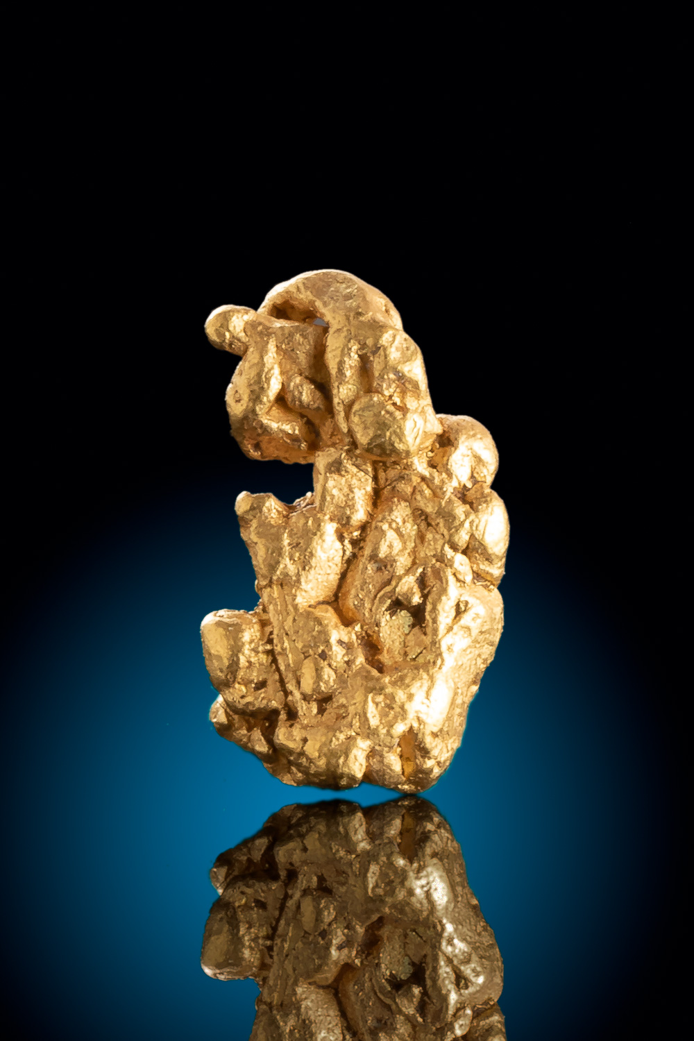 Colorado Gold Nugget - Interesting Texture and Shape