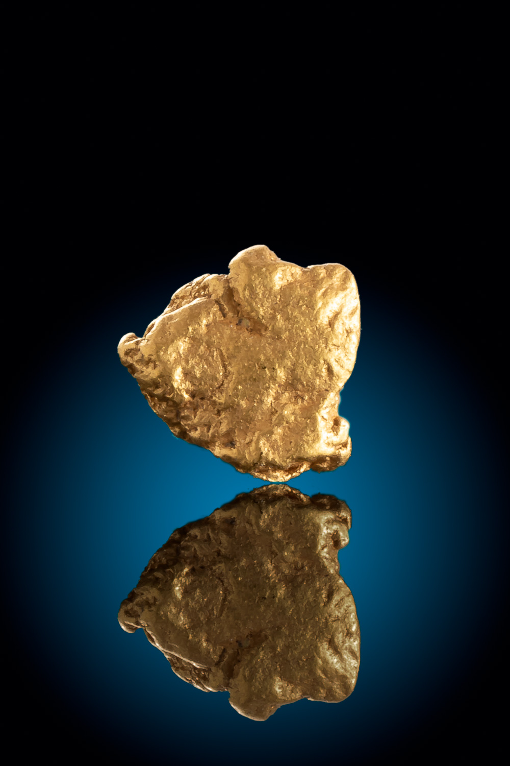 "A ""Classic"" Gold Nugget Shape - Gold Nugget from Colorado"