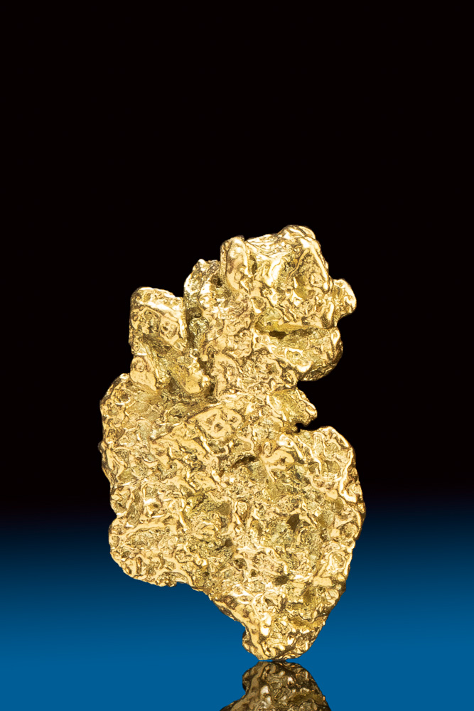 Interesting and Unique Natural Gold Nugget from Colorado