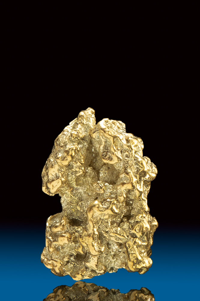 Chunky Natural Gold Nugget from Park County, CO