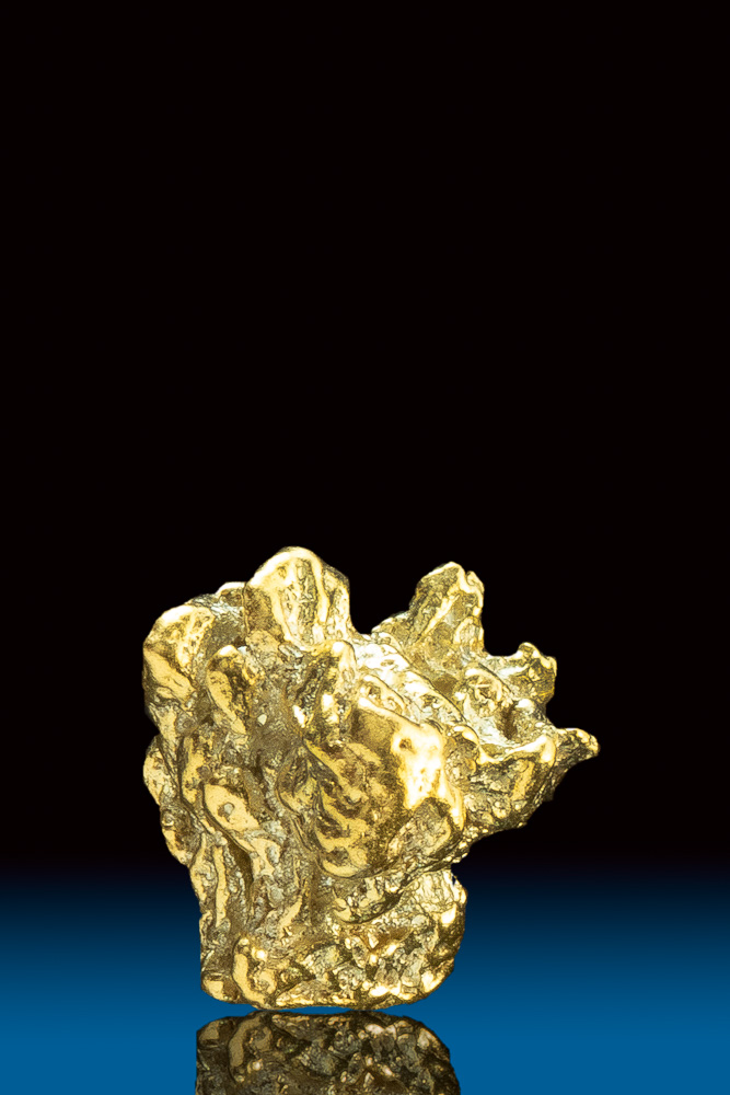 Chunky and Unique Rocky Mountain Natural Gold Nugget - CO