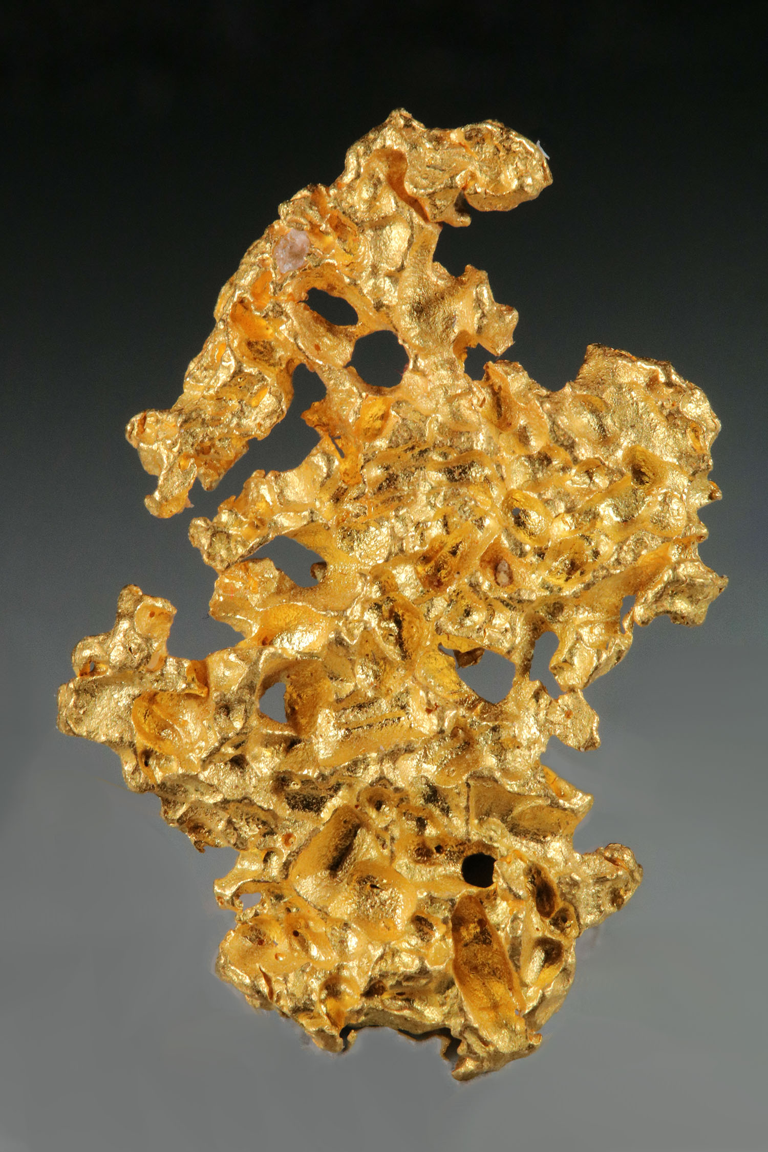 Absolutely Gorgeous Crystalline Gold Nugget from Australia