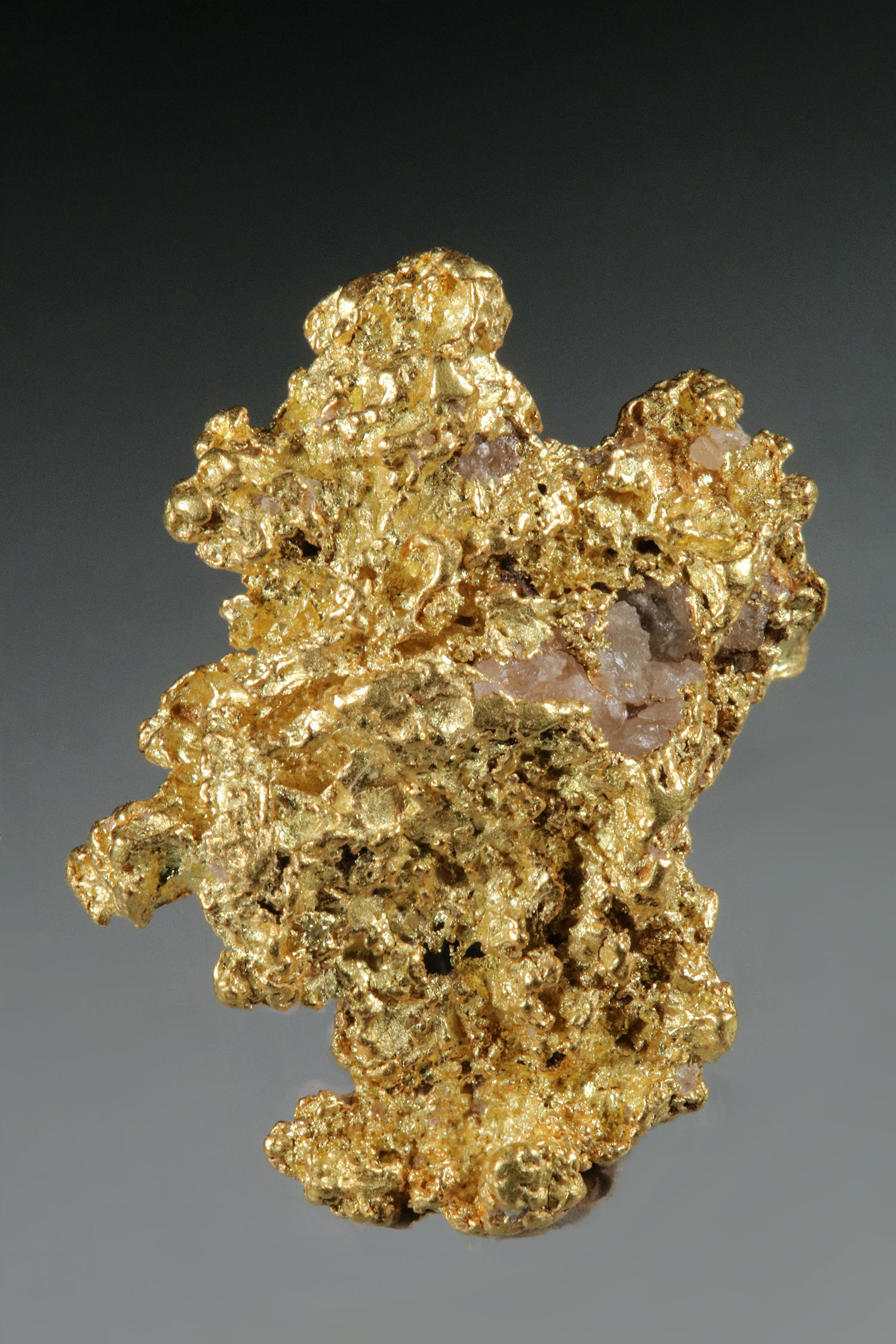 Crystalline Gold Nugget - Jewelry Grade from Australia