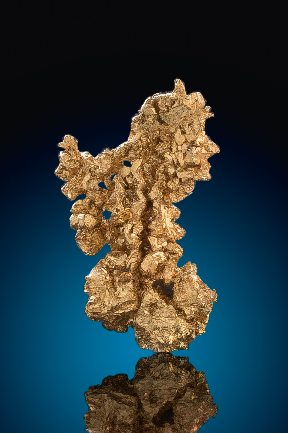 Sharp Micro Crystalized Gold - Round Mountain Gold Mine
