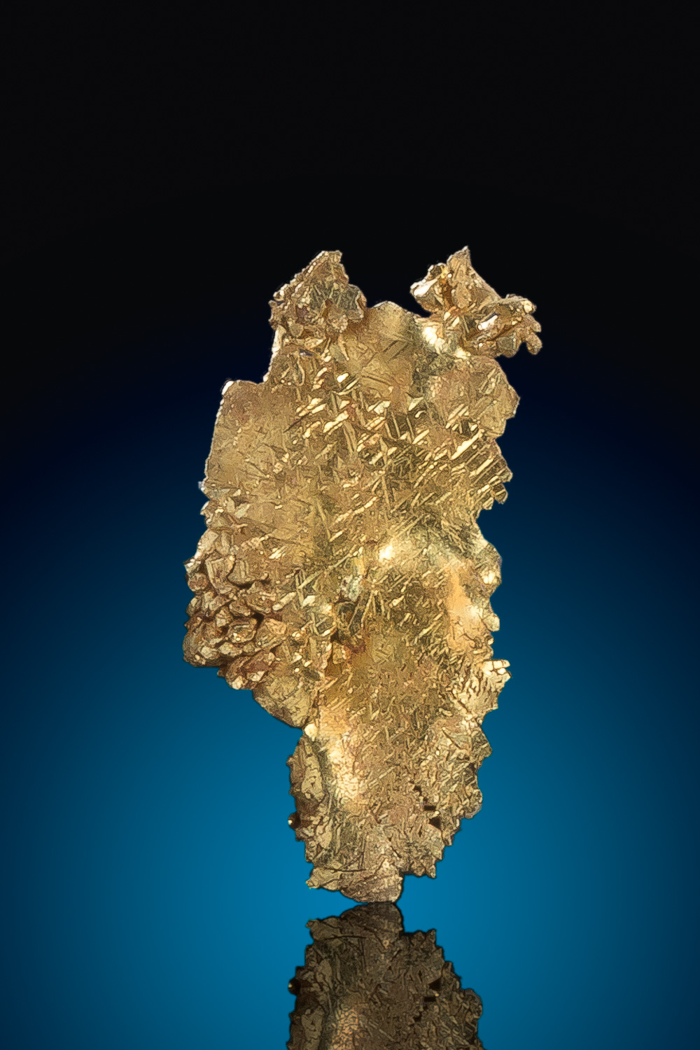 Rare Crystalized Leaf Gold Specimen - Round Mountain