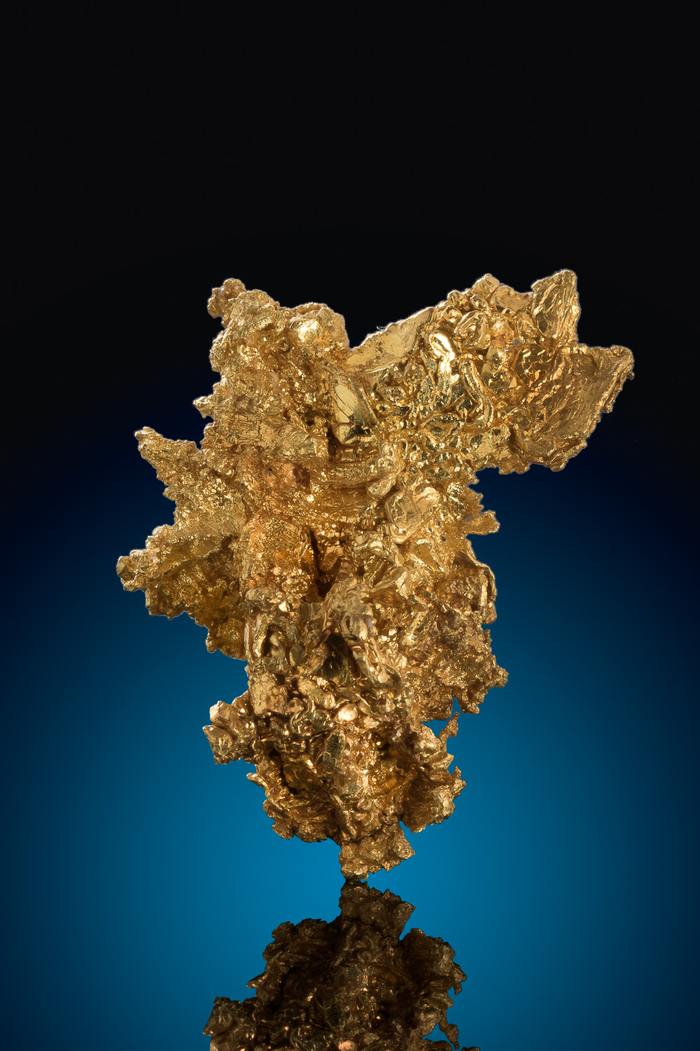 My Best from the Colorado Quartz Mine - 20 gram gold crystal
