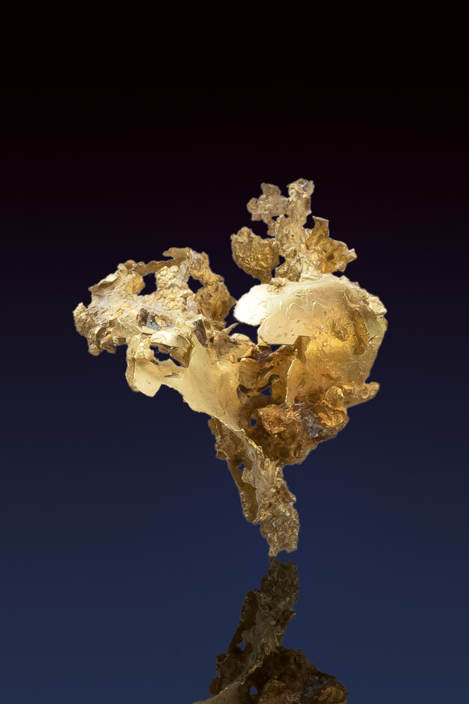Great Piece of Crystalline Gold from The Allegheny