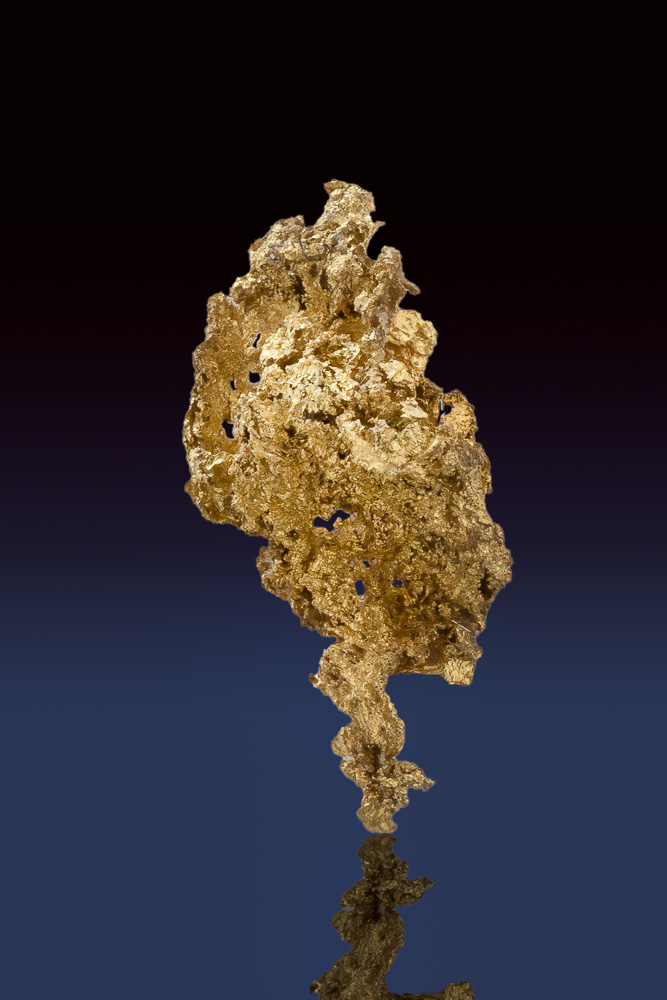 Intricately Detailed Crystalline Gold from the Allegheny