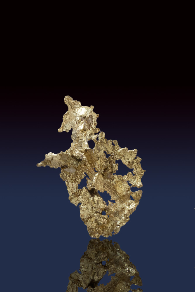 Amazingly Detailed Crystalline Gold from the Allegheny