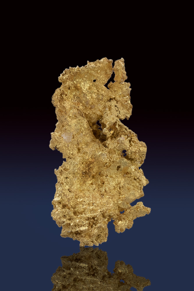 Textured Gold Crystalline Piece from the Allegheny