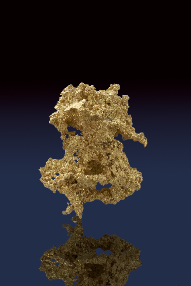 Rare Intricately Detailed Crystallized Gold from the Allegheny