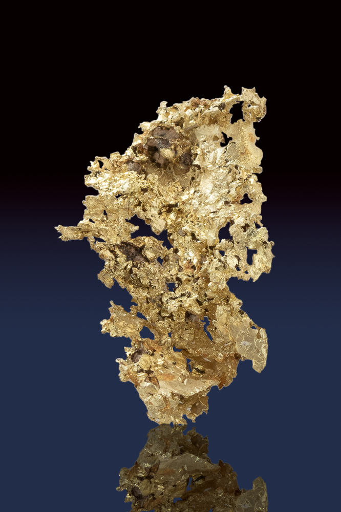 Amazing Lacy Crystalline Gold Specimen from the Allegheny