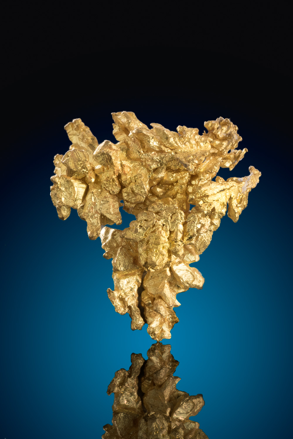 Chunky and Layered Gold Crystal - Diltz Gold Mine