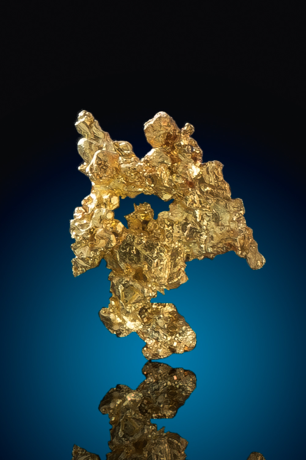 Lacy Crystalline Gold Nugget from the Eagles Nest Gold Mine