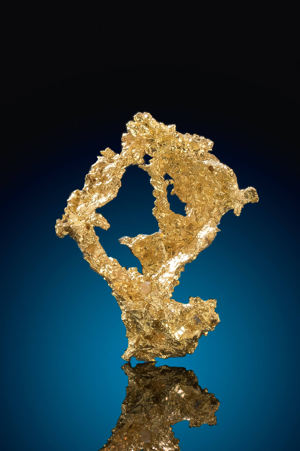 Beautiful Crystalline Gold Nugget from the Eagles Nest Gold Mine