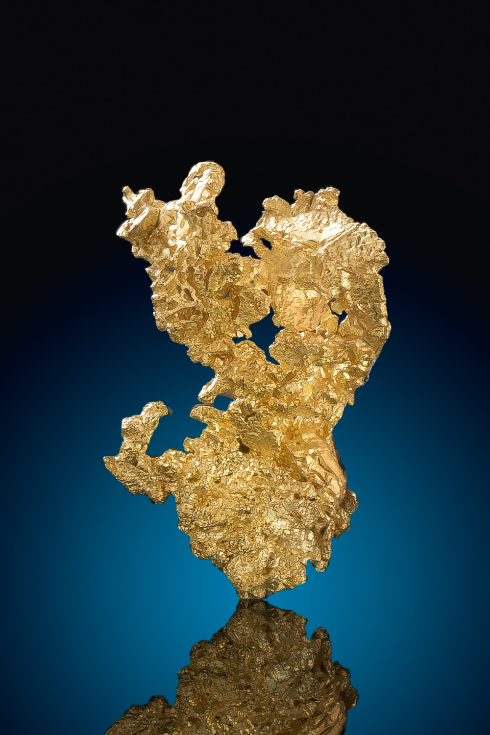 Brilliant Crystalline Gold Nugget from the Eagles Nest Gold Mine