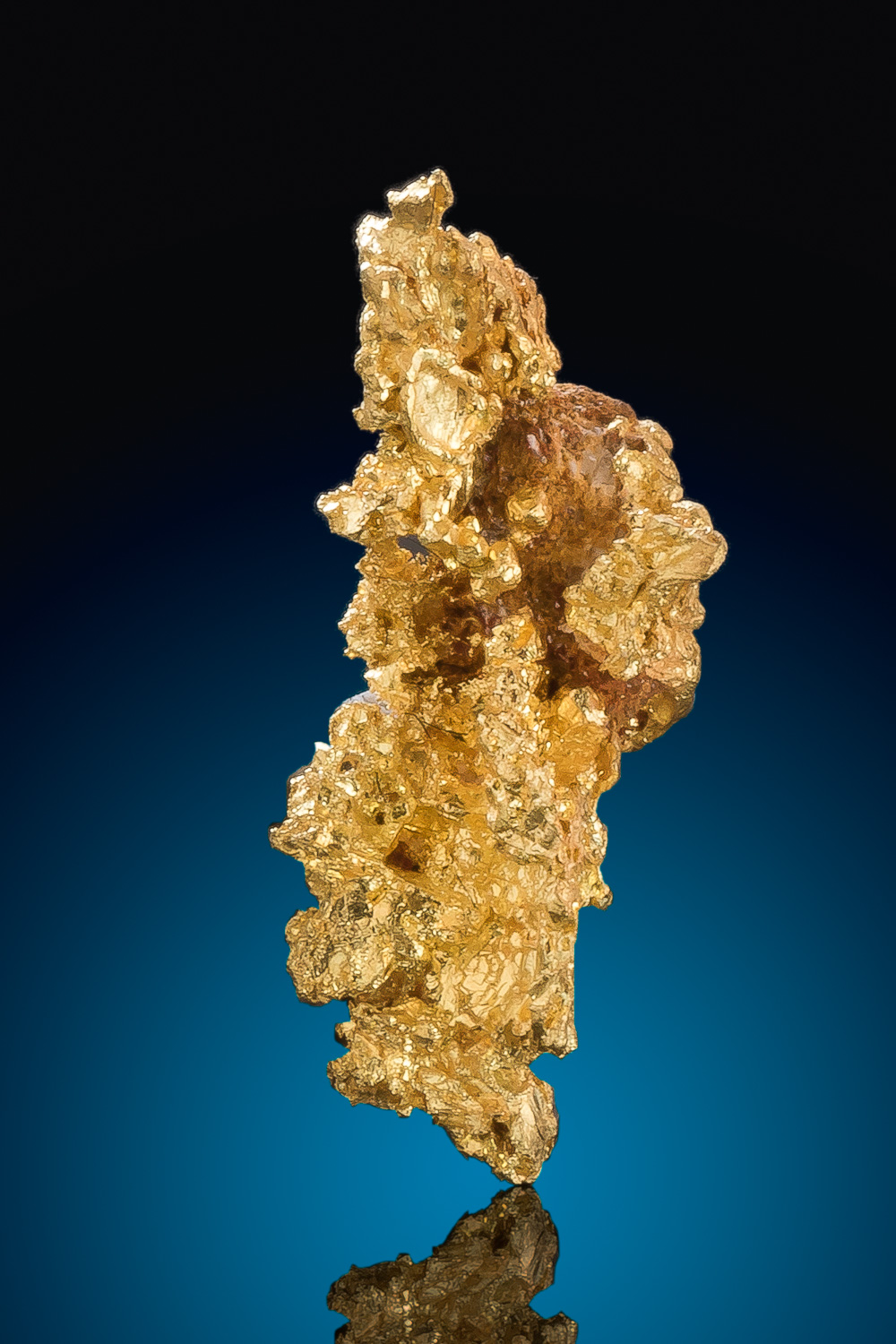 Sharp and Long Crystalline Gold Nugget from the Eagles Nest Mine