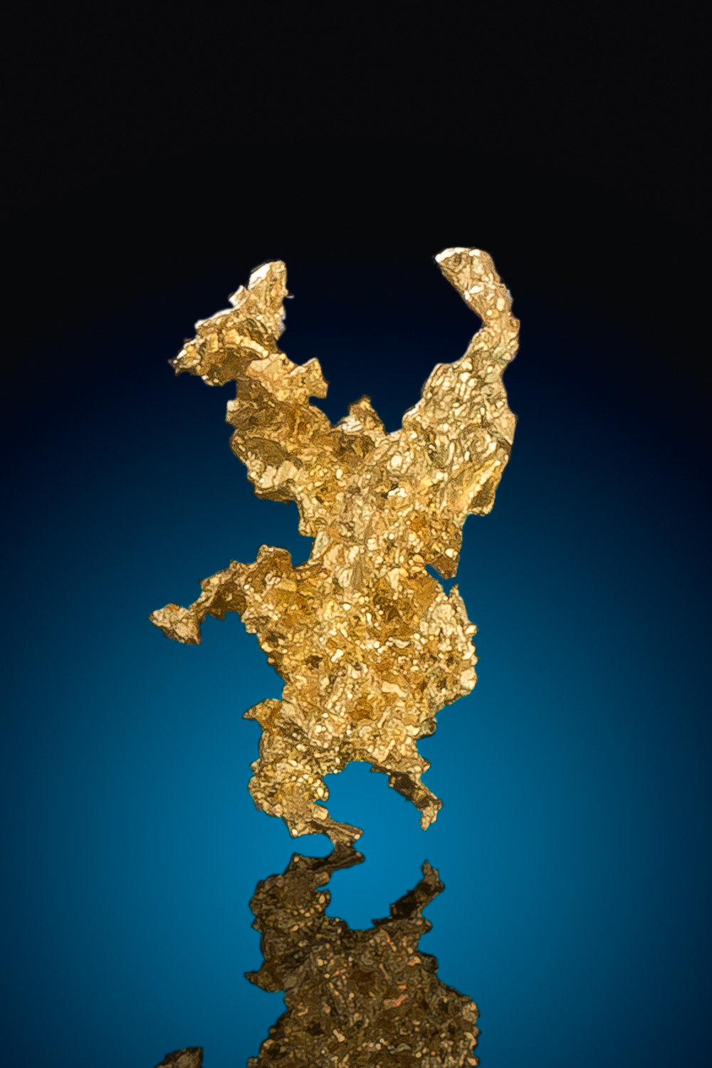 Intricate Crystalline Gold Nugget from the Eagles Nest Gold Mine
