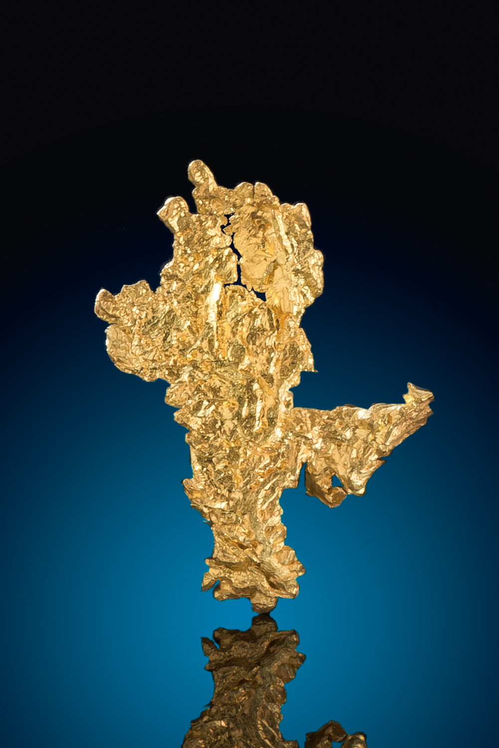 Sharp From - Crystalline Gold Nugget from the Eagles Nest Mine