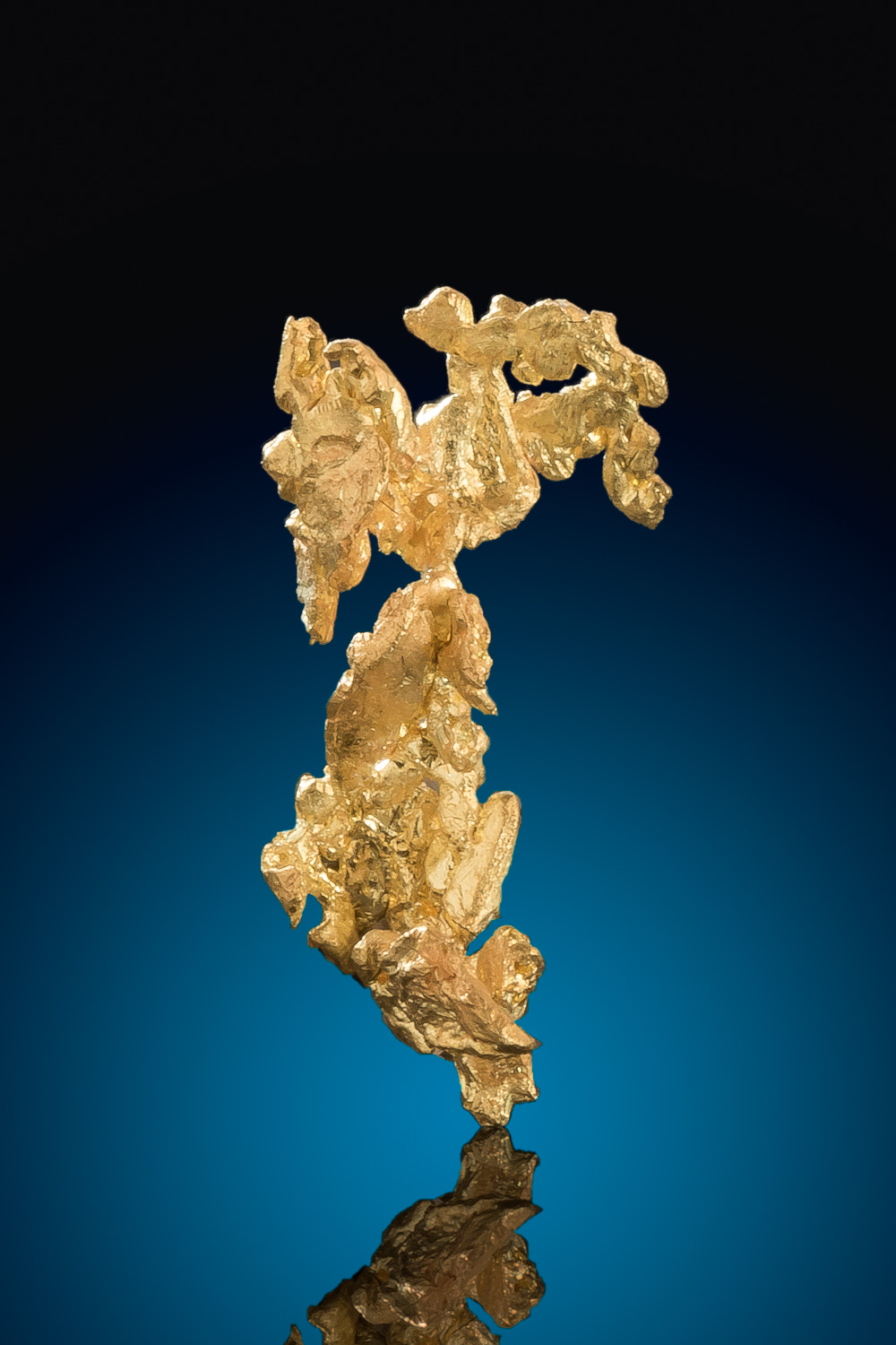 Intricate Lacy Crystalline Gold Nugget - Eagles Nest Mine