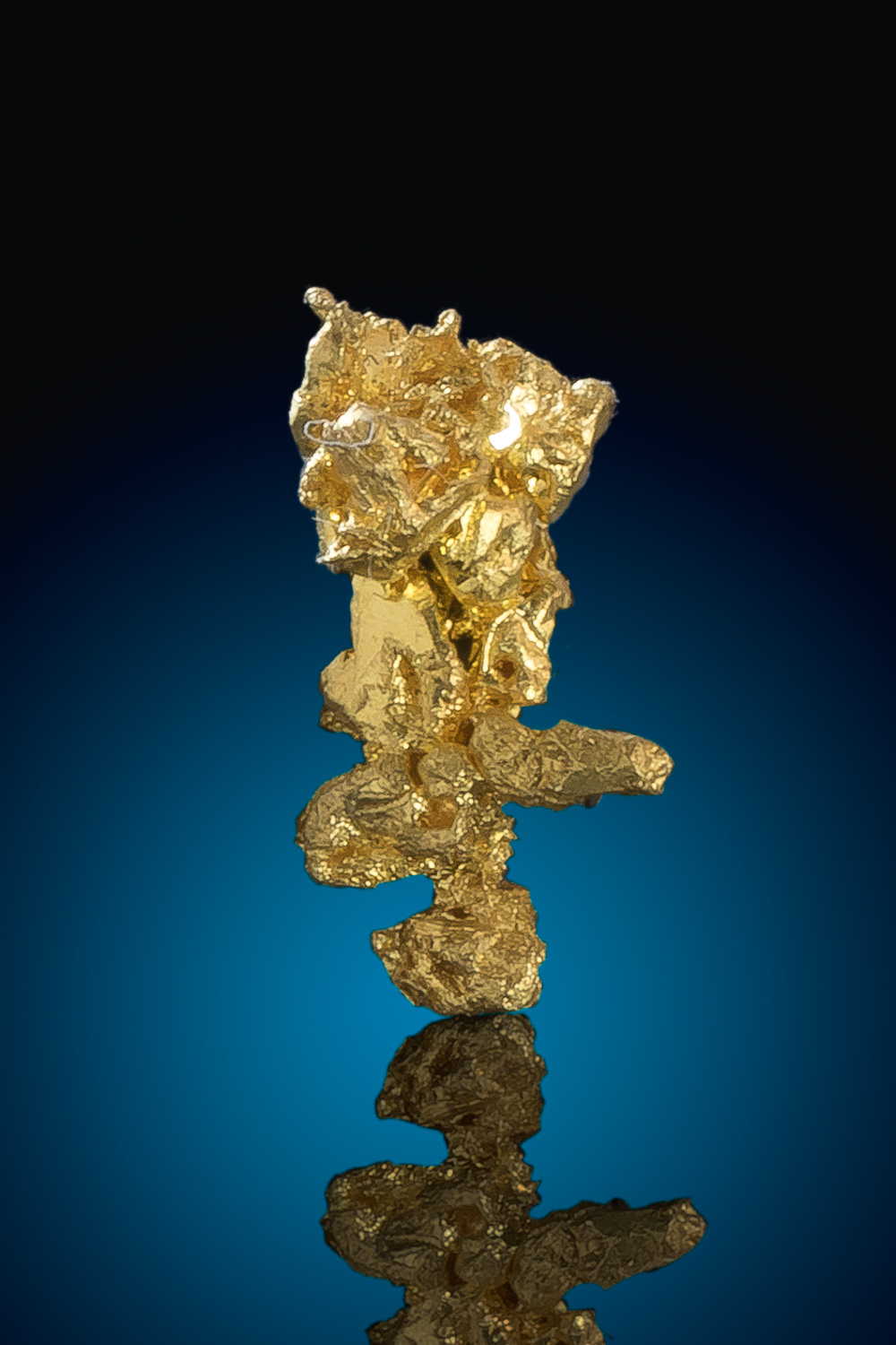 Intricate Crystalline Gold Nugget - Eagles Nest Gold Mine