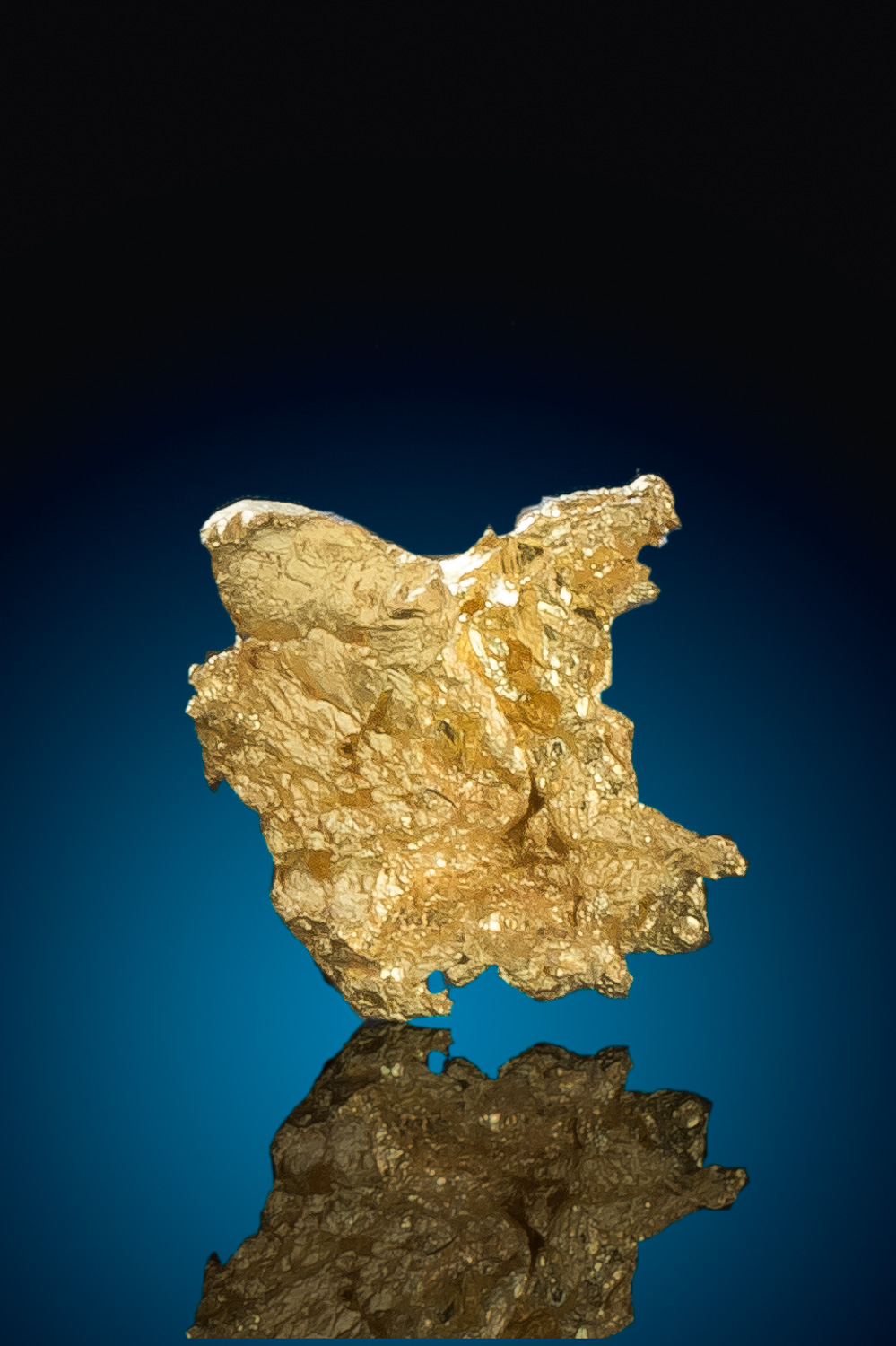 Crystalline Gold Cluster from the Famous Eagles Nest Mine