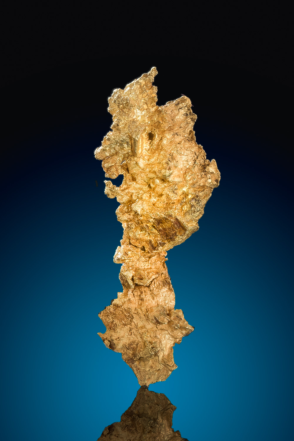 Long and Tappered Crystalline Gold Nugget - Eagles Nest Mine