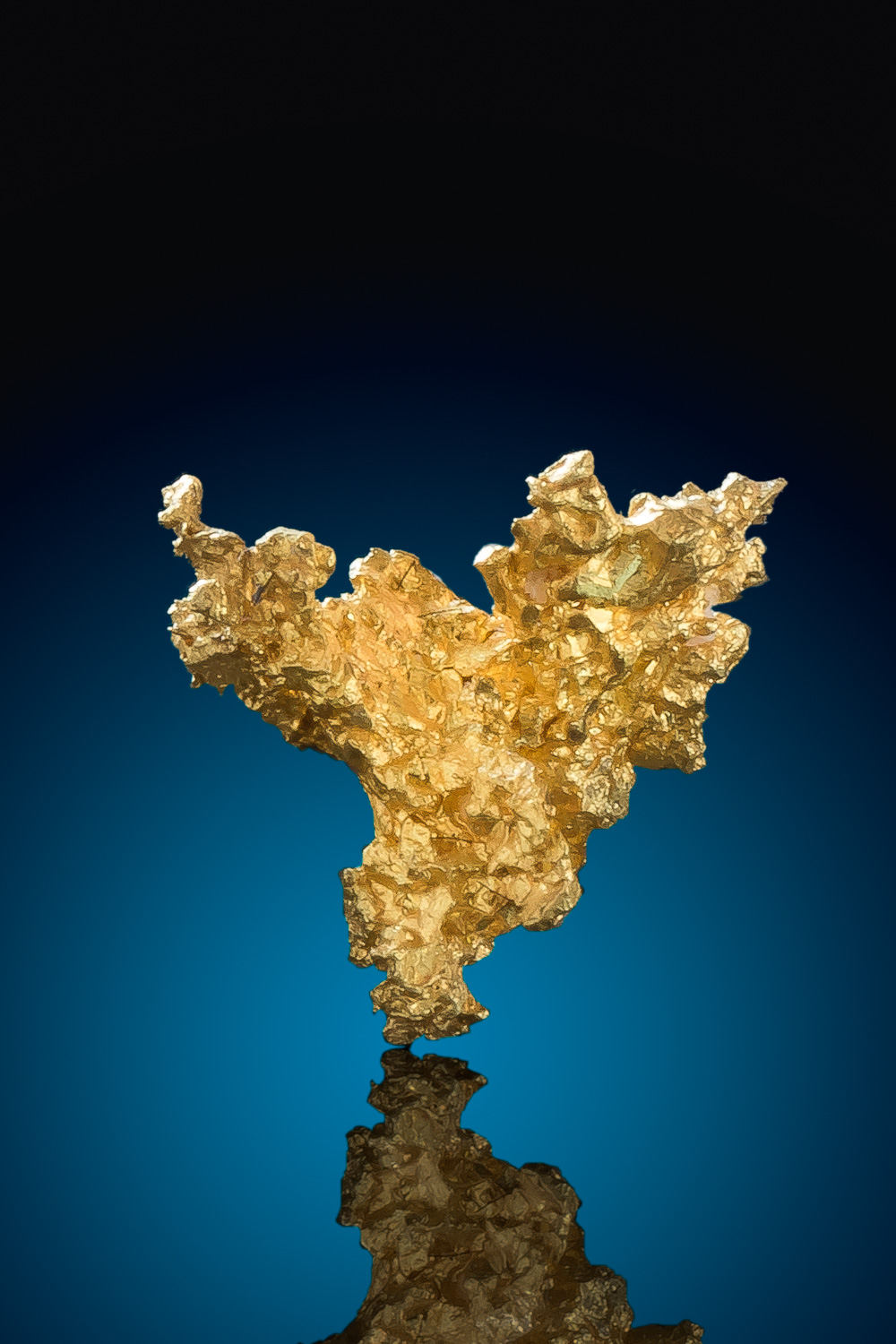 Beautiful Triangular Crystalline Gold Nugget - Eagles Nest Mine