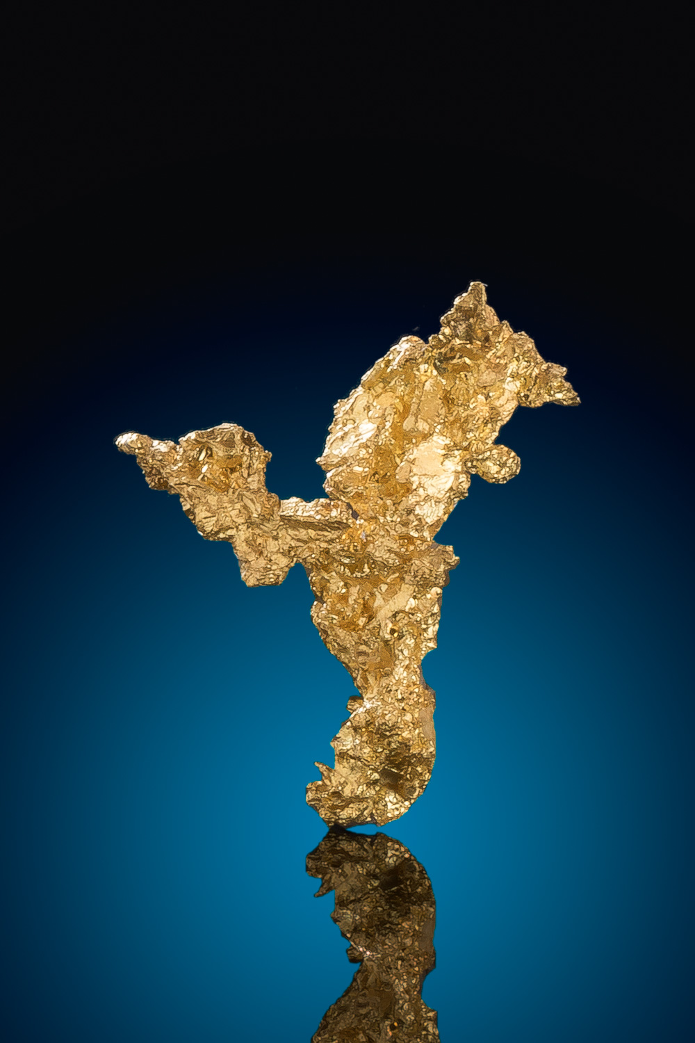 Sharp Crystalline Gold Nugget Specimen - Eagles Nest Gold Mine