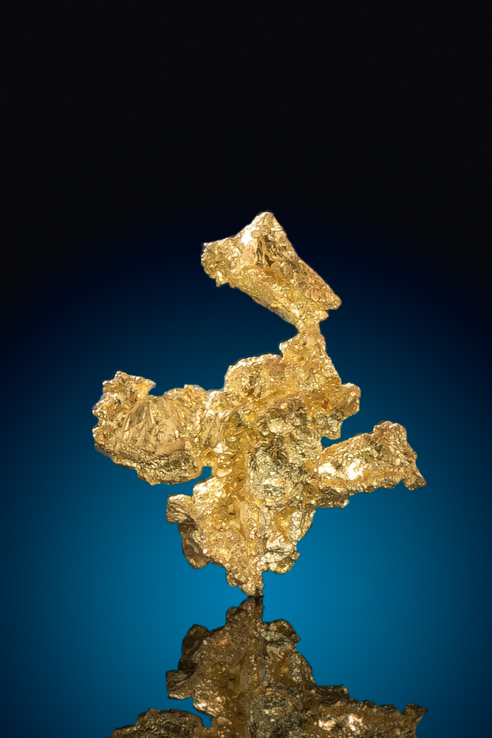 Unusual Shape - Crystalline Gold Nugget - Eagles Nest Gold Mine