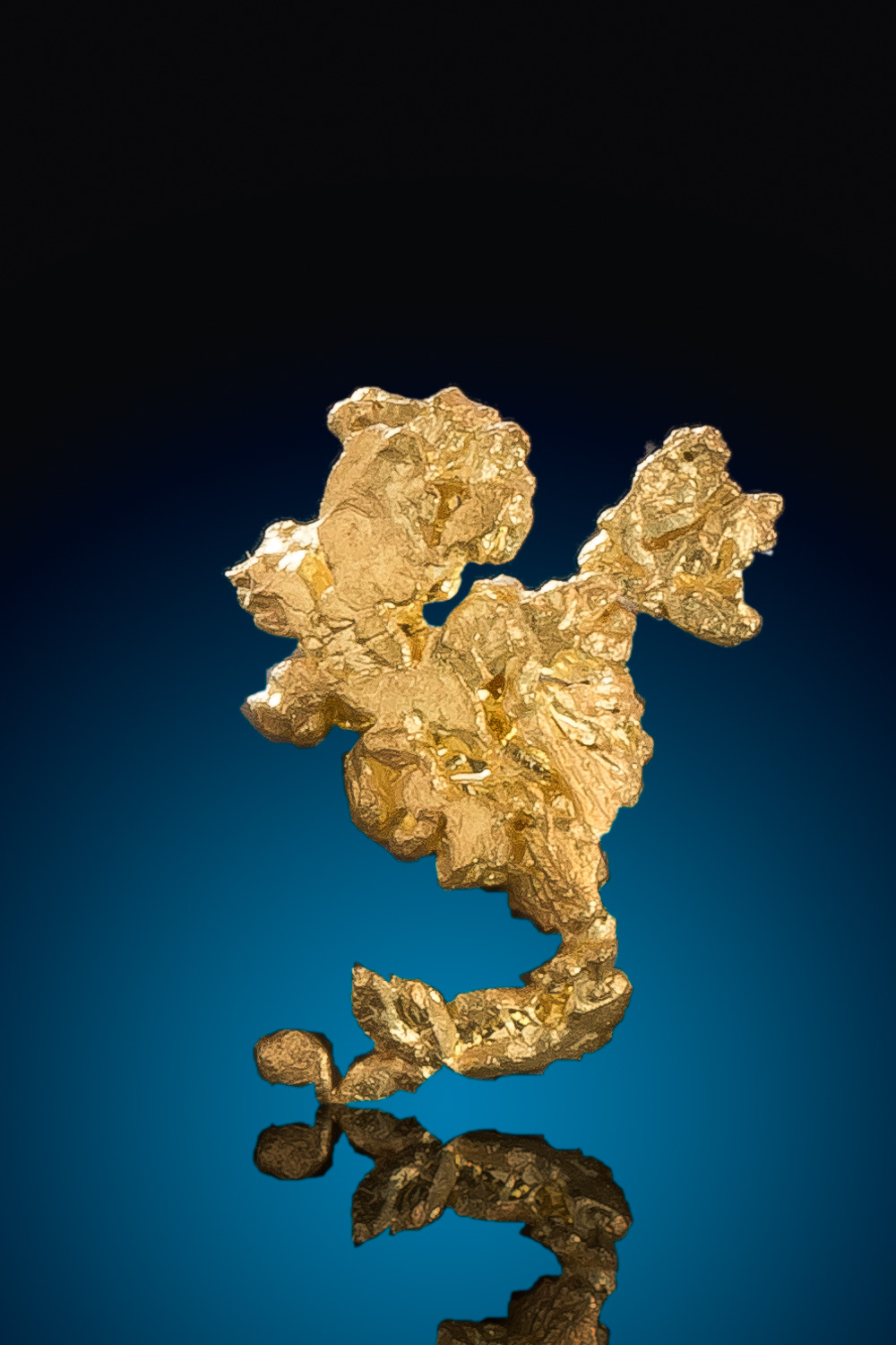 Uniquely Shaped Crystalline Gold Specimen - Eagles Nest Mine