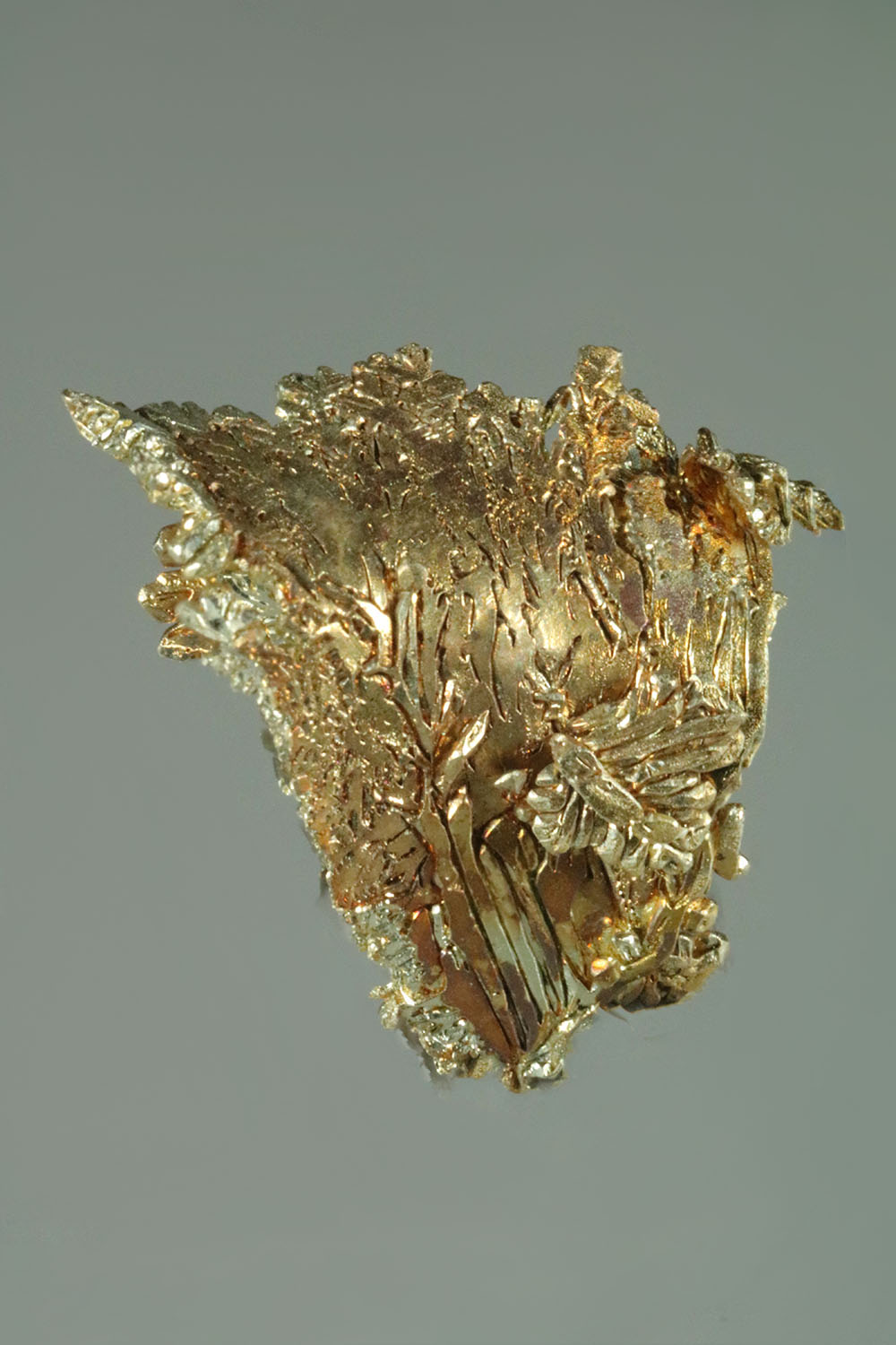 "Faceted Gold Crystal with a ""Wave"" Formation - Fire Creek Mine"