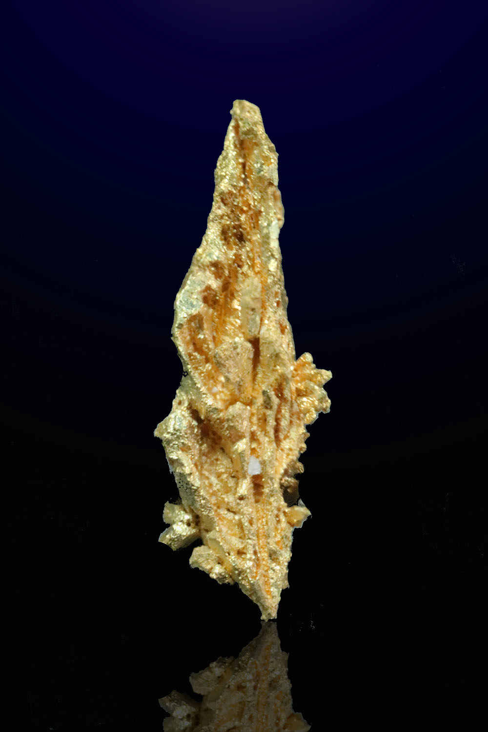 Facted Spear Gold Crystal - Round Mountain gold Mine