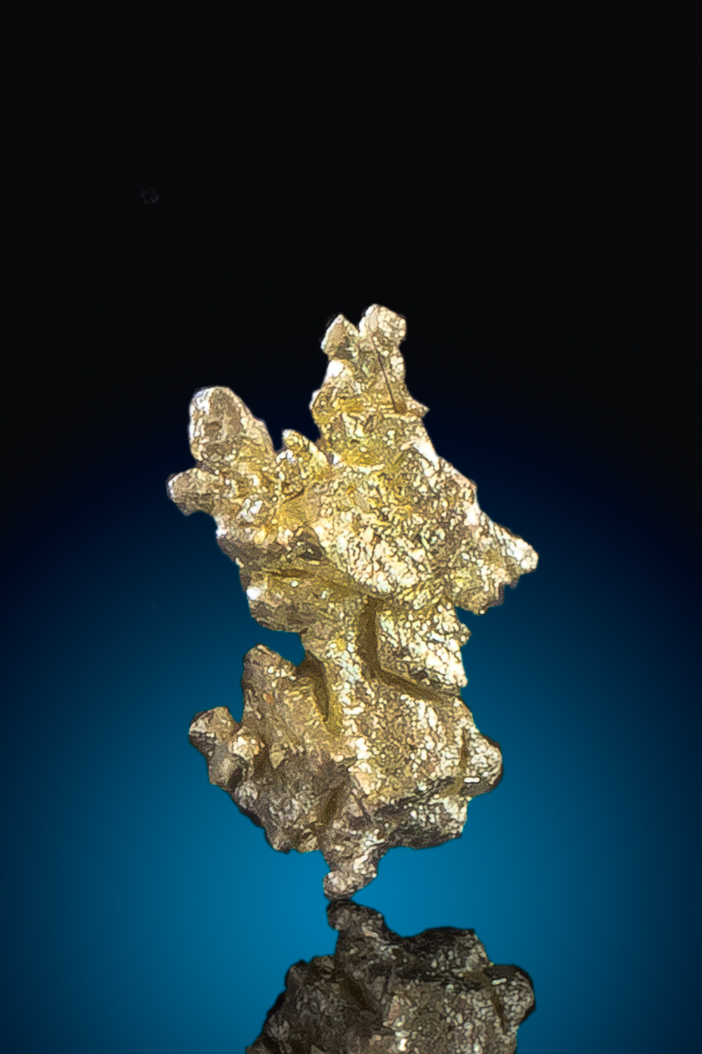 Brilliant Color - Gold Crystal Specimen from Round Mountain