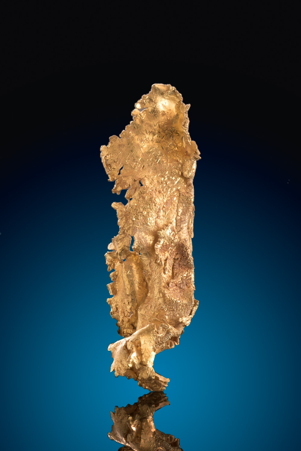 Long and Intricate Gold Nugget Crystal Specimen - Round Mountain