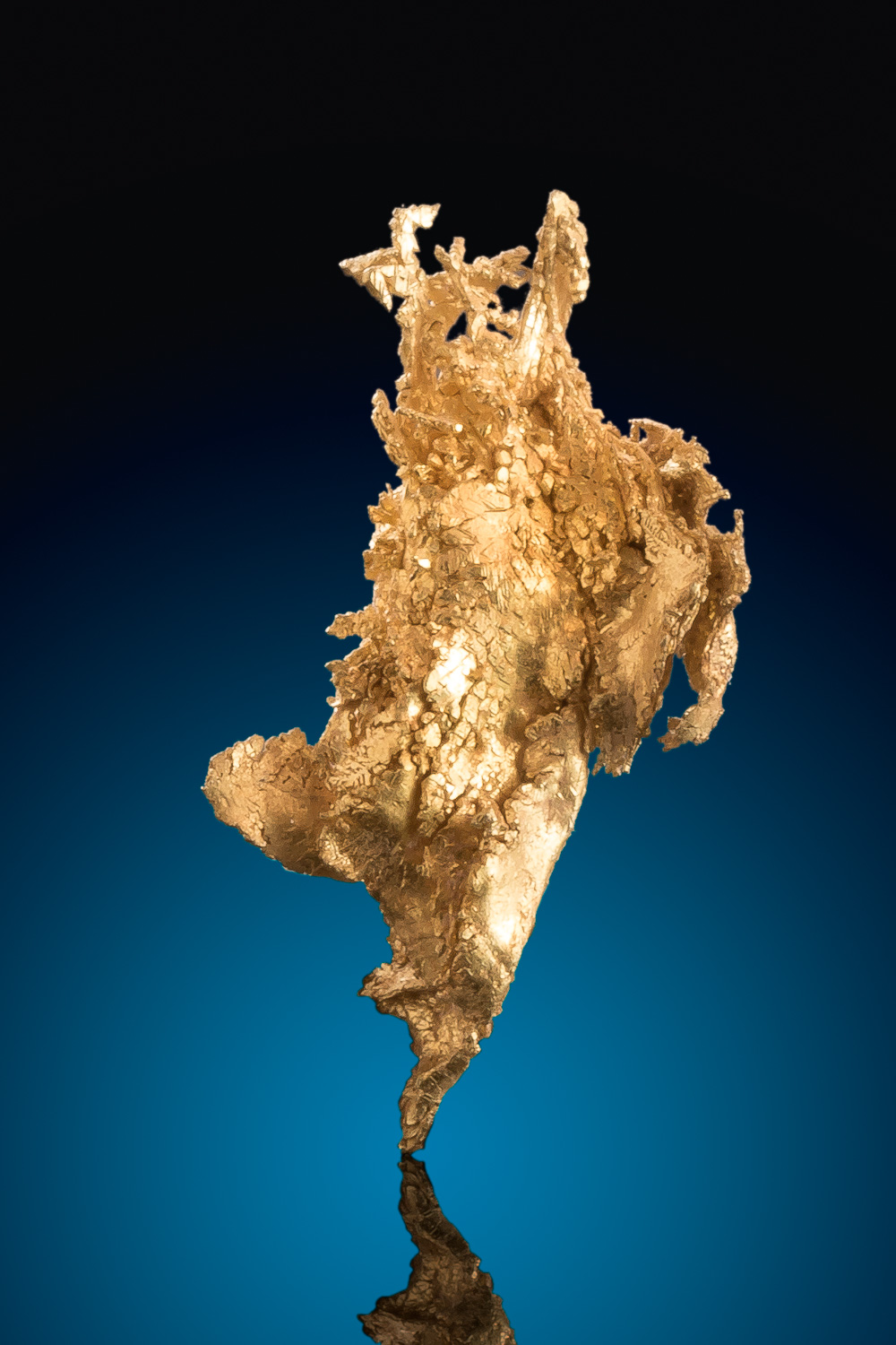 Beautiful Gold Nugget Crystal - Round Mountain, Nevada