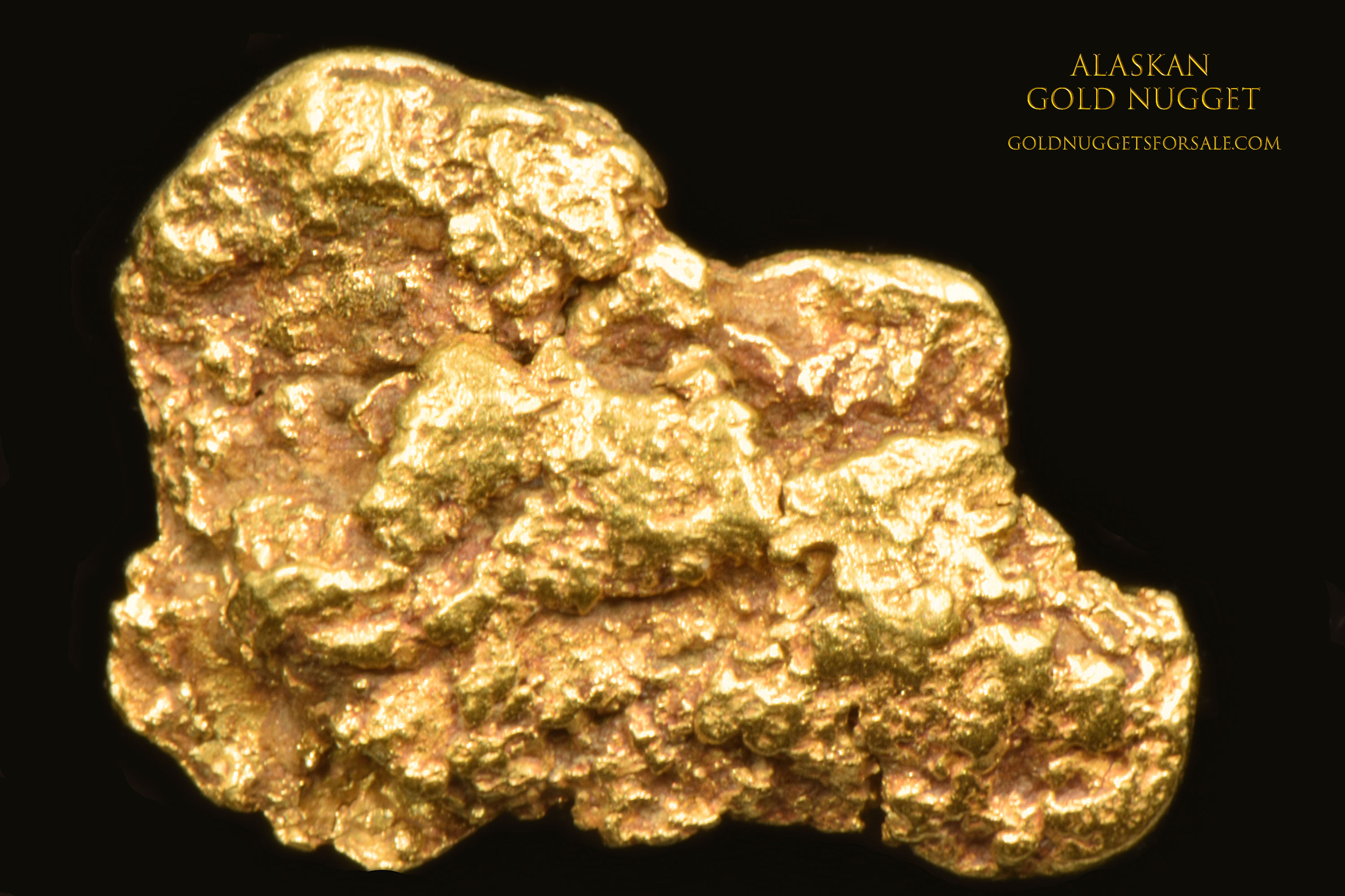 Jewelry Grade Alaskan Gold Nugget